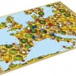 Catan Histories: Merchants of Europe Map
