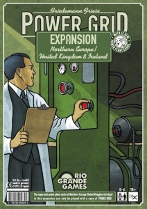 Power Grid Northern Europe / United Kingdom & Ireland available to buy from Board Game Extras