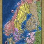 PowerGrid Northern Europe Map