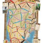 Ticket to Ride Vol 3 – The Heart of Africa Map