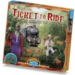 Ticket to Ride Vol 3 – The Heart of Africa available from Board Game Extras