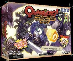 Quarriors Setup Box available from Board Game Extras