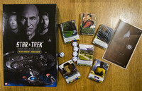 Star Trek Deck Building Game Components