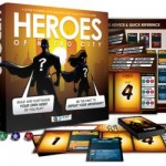 Heroes of Metrocity Board Game available from Board Game Extras