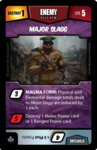 Heroes of Metrocity Villian Card