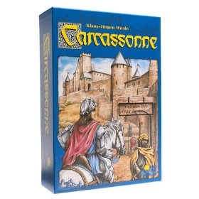 Carcassonne Board Game available from Board Game Extras