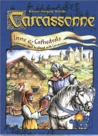 Carcassonne Inns and Cathedrals Expansion available from Board Game Extras