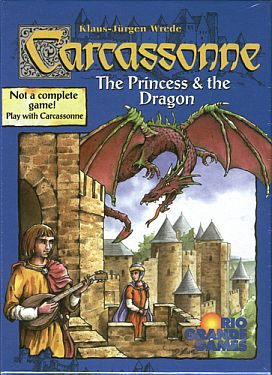 Carcassonne Princess and Dragon Expansion available from Board Game Extras