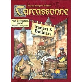 Carcassonne Traders and Builders Expansion available from Board Game Extras
