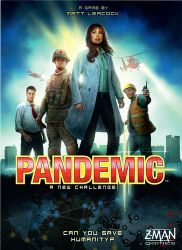 Pandemic 2013 Board Game available from Board Game Extras