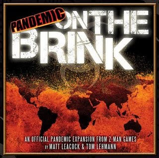 Pandemic On The Brink Board Game Expansion Pack