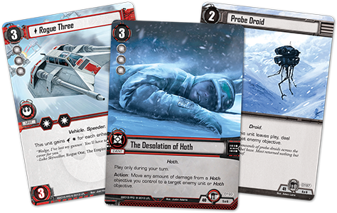 Star Wars Desolation of Hoth Cards