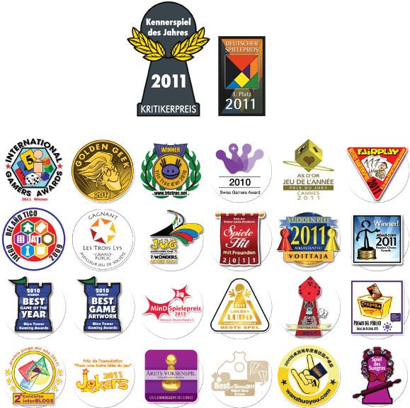 7 Wonders Board Game Awards