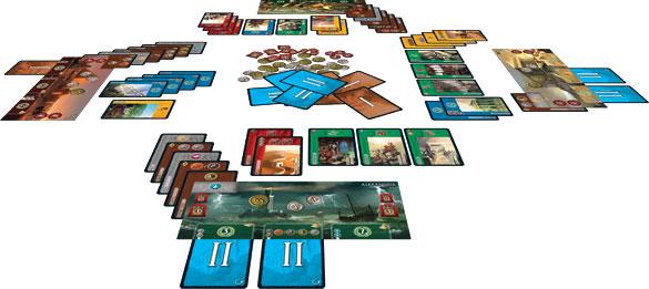 7 Wonders Board Game Layout