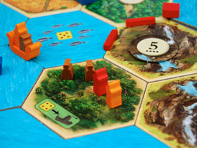 Catan Explorers & Pirates Spice Land