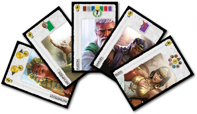 7 Wonders Leaders Cards