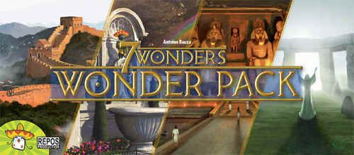 7 Wonders Wonder Pack available from Board Game Extras