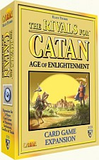 The Rivals for Catan Age of Enlightment Expansion available from Board Game Extras