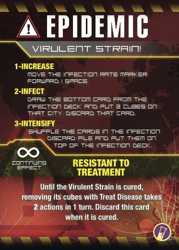 Pandemic In The Lab On The Brink virulent stream card