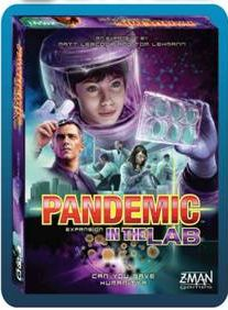 Pandemic In The Lab available from Board Game Extras