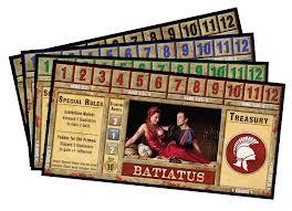 Spartacus Dominus Cards