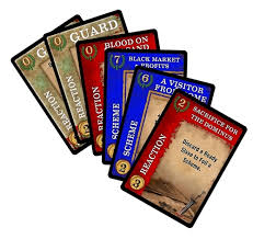 Spartacus Intrigue Cards