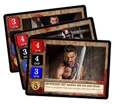 Spartacus Market Cards