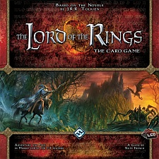 The Lord of The Rings The Card Game available from Board Game Extras