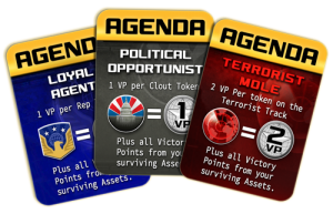 Homeland Board Game Cards