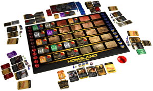 Homeland Board Game Contents