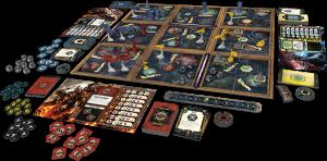 Warhammer 4000 Conquest layout