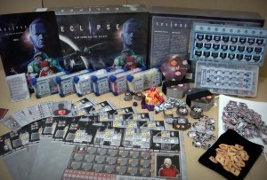 Eclipse Board Game Contents