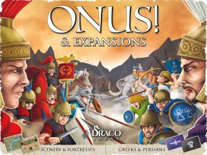Onus Rome vs Carthage 2nd Edition board game expansion
