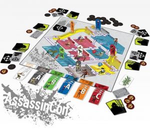 assassicon board game
