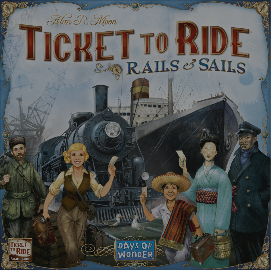 ticket to ride raid and sails