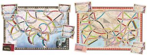 Ticket To Ride Asia Map.Ticket To Ride Map Collection Asia Board Game Extras