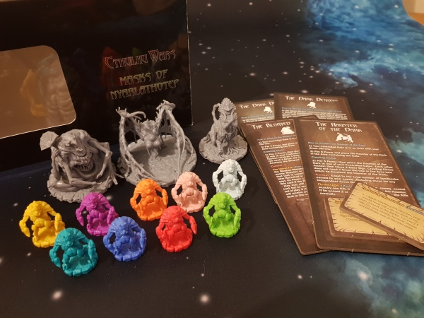 Cthuluh Wars expansions part 2 neutral expansions