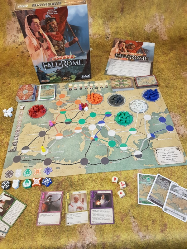 Pandemic Fall of Rome Review