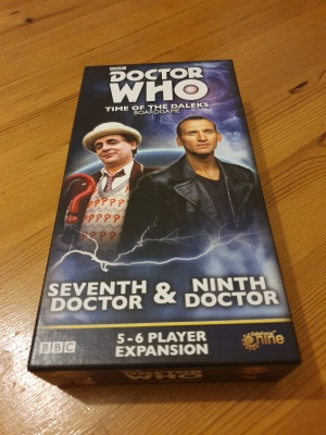 Doctor Who: Time of the Daleks seventh Doctor and ninth Doctor expansion