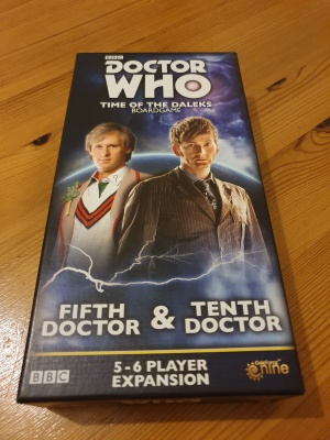 Doctor Who: Time of the Daleks Fifth Doctor and Tenth Doctor expansion