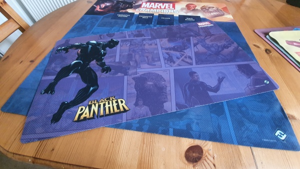 Marvel Champions 1-4 player game mat - Black Panther