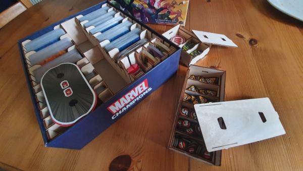 Marvel Champions The Broken Token Organizer
