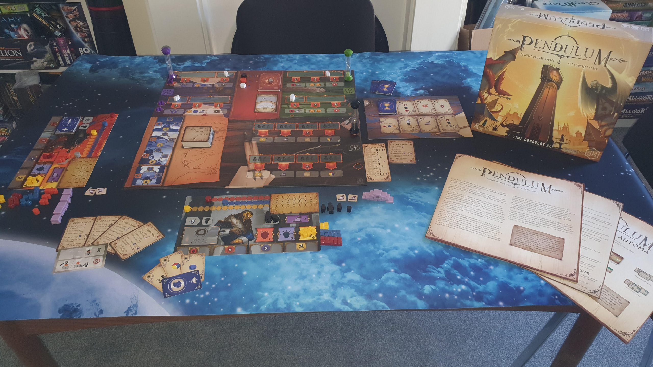 Pendulum Board Game by Stonemaier Games